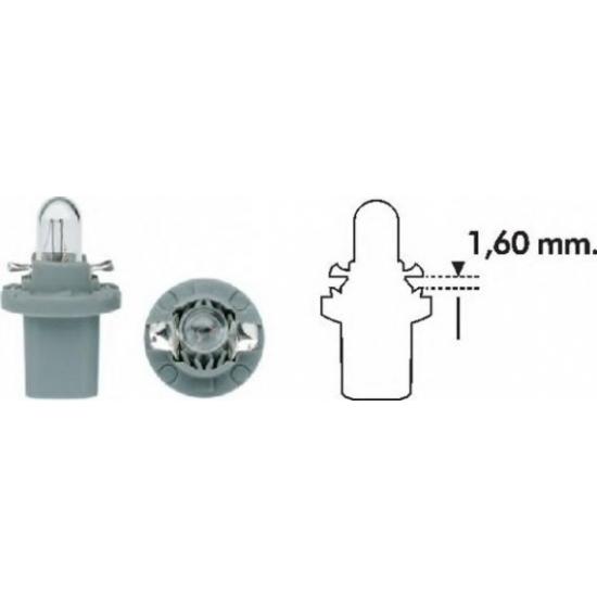 Лампа накаливания Magneti Marelli Standard BAX8.5d 24V 1.2W Grey