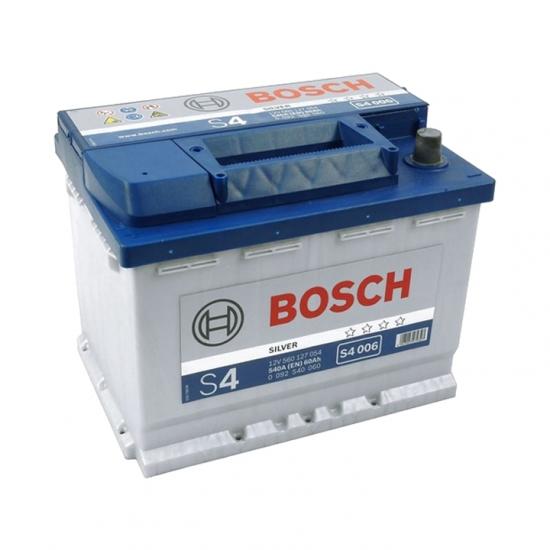 Автомобильный аккумулятор Bosch S4006 6СТ-60Ah Аз 540A (EN) 0092S40060