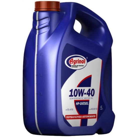 Масло моторное Агринол HP-Diesel 10W-40 CG-4/SJ 5л/4,4кг