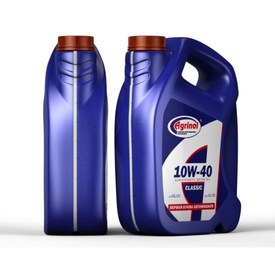 Масло моторное Agrinol 10W-40 SG/CD 5 л/4.4 кг