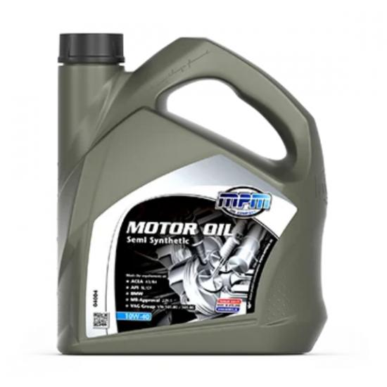 Масло моторное полусинтетика MPM 10W-40 Semi Synthetic 4 л