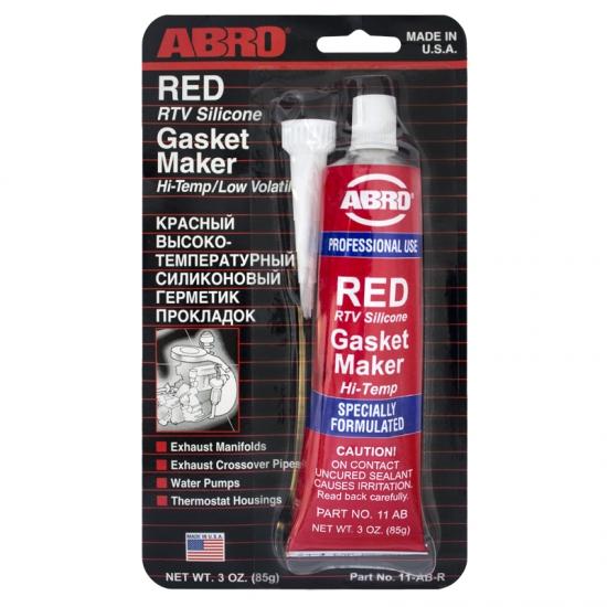 Герметик прокладок автомобильный красный ABRO 11-AB 85 гр