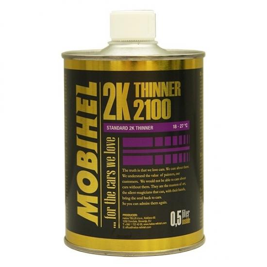 Разбавитель 2100 для 2к материалов Mobihel 0.5 л