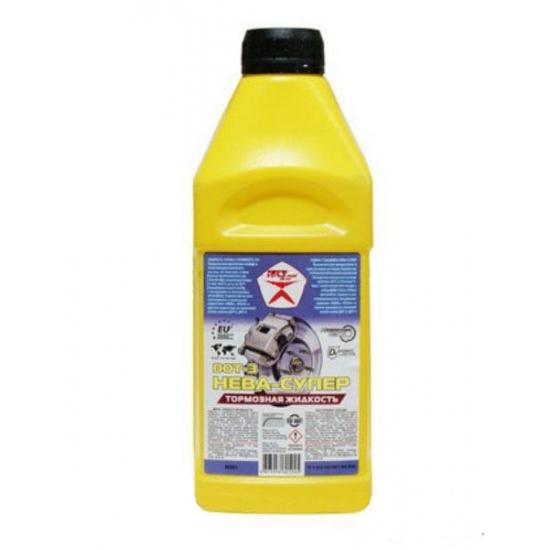 Тормозная жидкость Нева-Супер Гостовский продукт канистра 0,5 л (0,38 кг)