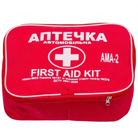Аптечка медицинская автомобильная-2 АМА-2 изменение №2 ДСТУ 3961-2000