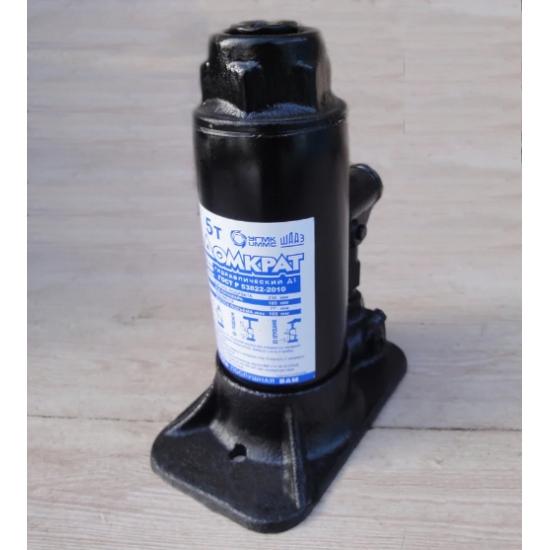 Домкрат гидравлический одноплунжерный бутылочного типа 180-370 мм 5 т пр-во ШААЗ