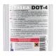 Тормозная жидкость DOТ-4 АЛЯSКА серебро 390 г (5437)
