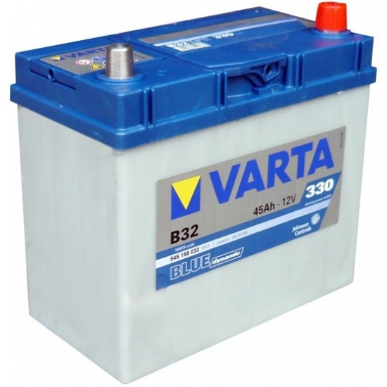 Аккумулятор 45Ah-12v Varta Blue Dynamic B34 238х129х227 L EN330