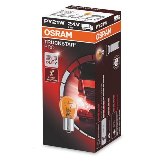 Лампа накаливания Osram Truck Star Pro PY21W 24V 7510TSP
