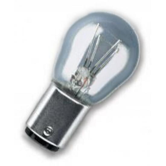 Лампа накаливания Osram P21/5W BAY15D 12 В 21/5 Вт 7528-02B 2 шт