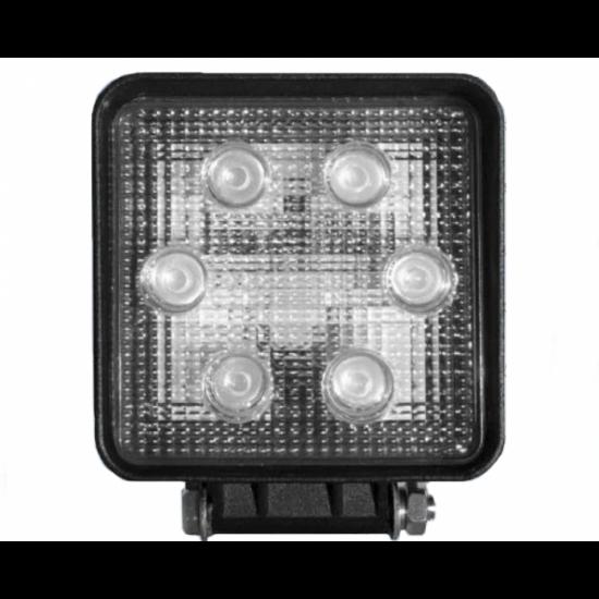 Фара рабочая светодиодная в металлическом корпусе ФР 01-18
