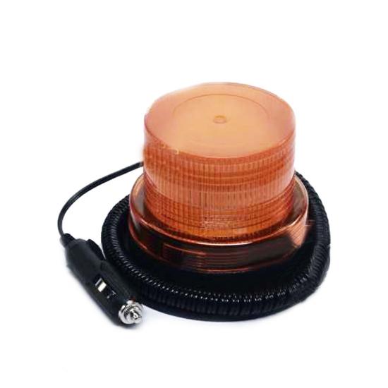 Проблесковый маяк оранжевый LED 12/24В 130х96 мм ДК DK-840-2 LED