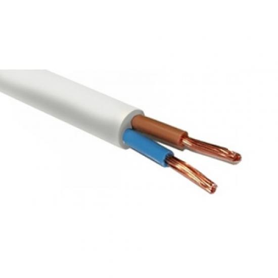 Провод соединительный медный ПВС 2х1,5 двухжильный