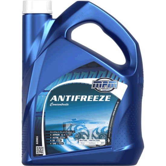 Антифриз концентрат охлаждающей жидкости MPM Oil Antifreeze Concentrate 5 л