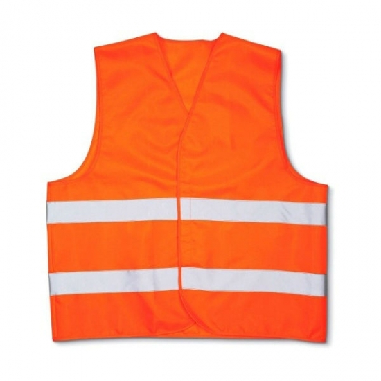 Жилет светоотражающий оранжевый ДК DK-0504-55