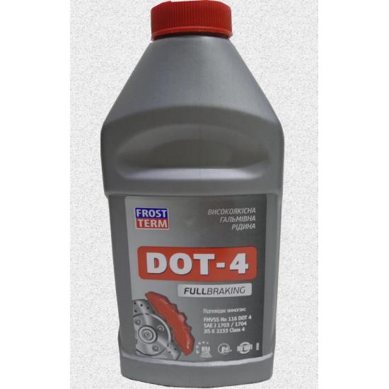 Тормозная жидкость DOT-4 Frost Term 0,5 л (0,375 кг)