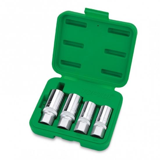 Набор шпильковертов 1/2 4 единицы 6, 8, 10, 12 мм TOPTUL GAAI0401