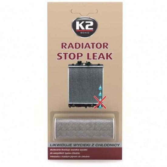 Герметик радиатора порошок К2 Radiator Stop Leak 20гр T230 K20056
