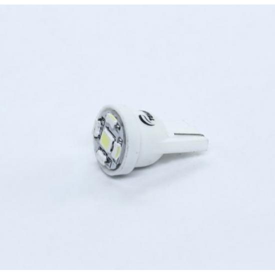 Лампа LED без цоколя для габаритов и панели приборов T10-5 SMD W2.1x9,5d 24V WHITE Tempest