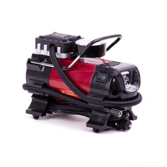Компрессор автомобильный 12В один цилиндр 19 мм Intertool AC-0001