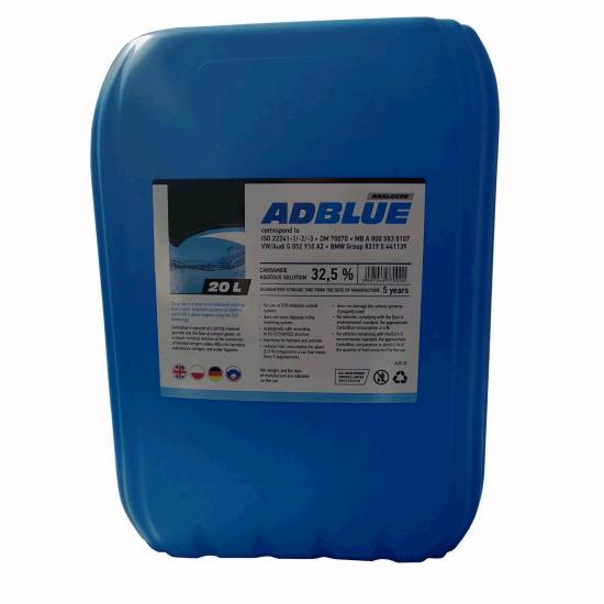 Реагент AdBlue для снижения выбросов оксидов азота ( мочевины) 20 л