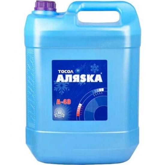 Антифриз Тосол Аляsка Эко А-40 синий 10 л (9,6 кг)