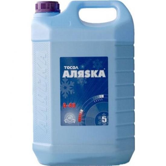 Антифриз Тосол Аляsка Эко А-40 синий 5 л (4.9 кг)
