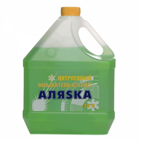 Омыватель стекла зимний Аляsка -30°C цитрус 3 л
