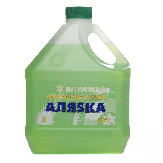 Омыватель стекла зимний Аляsка -20°C цитрусовый 3 л