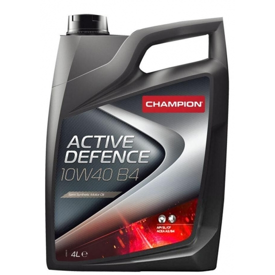 Масло моторное Champion Active Defence 10W40 B4 4 л