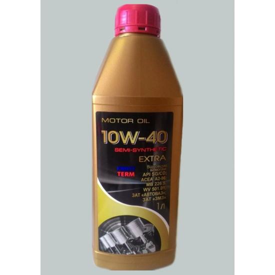Масло моторное полусинтетическое FrostTerm Extra 10W-40 SG/CD 1л