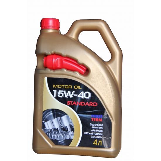 Масло моторное минеральное FrostTerm Standard 10W-40 SF/CD 4 л
