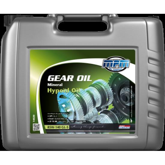 Масло трансмиссионное минеральное MPM Oil Gear Oil 85W-140 GL-5 Mineral Hypoïd Oil