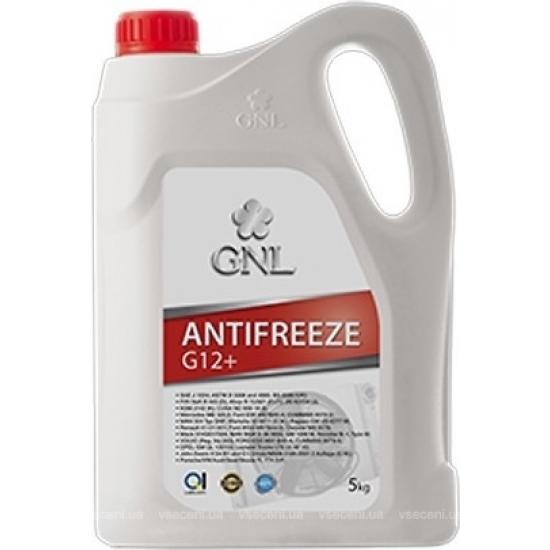 Антифриз охлаждающая жидкость GNL Antifreeze G12+ red 5 кг