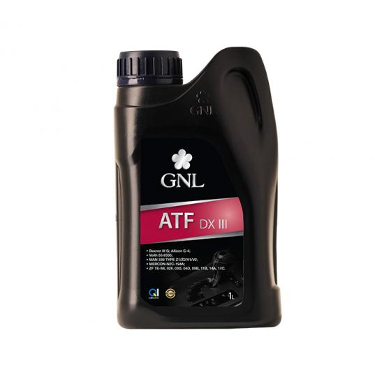 Масло трансмиссионное GNL ATF DX III 1 л