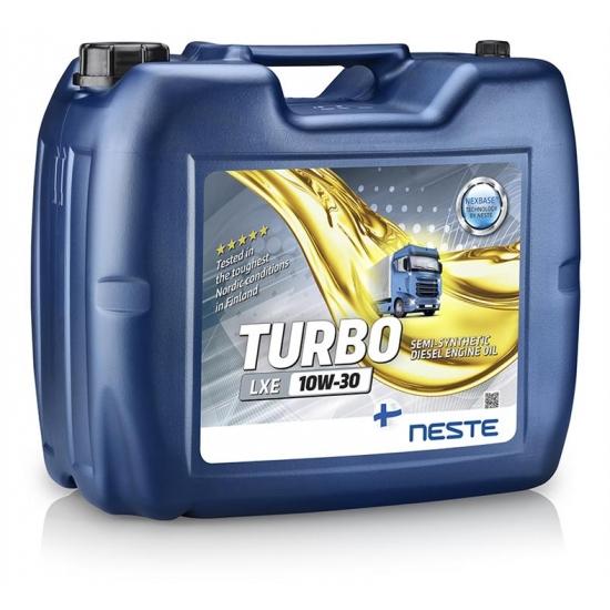 Масло моторное полусинтетическое дизельное Neste Turbo LXE 10W-30 20 л/17 кг
