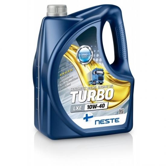 Масло моторное синтетическое Neste Turbo LXE 10W-40 API CI-4/SL 4 л