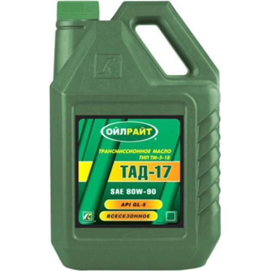 Масло трансмиссионное OIL RIGHT ТАД-17 ТМ-5-18 80W-90 GL-5 10 л