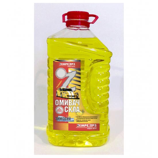Омыватель стекла зимний -20ºС Лимон желтый Химрезерв пэт 2 л (1,92 кг)