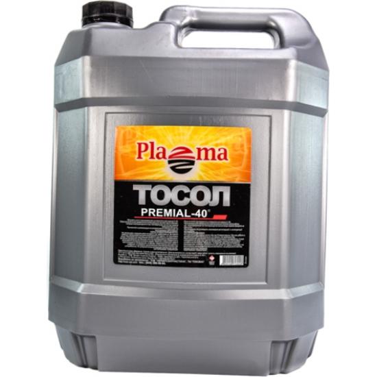 Антифриз Plazma Тосол Premial -40°С серый 200 л (215 кг)