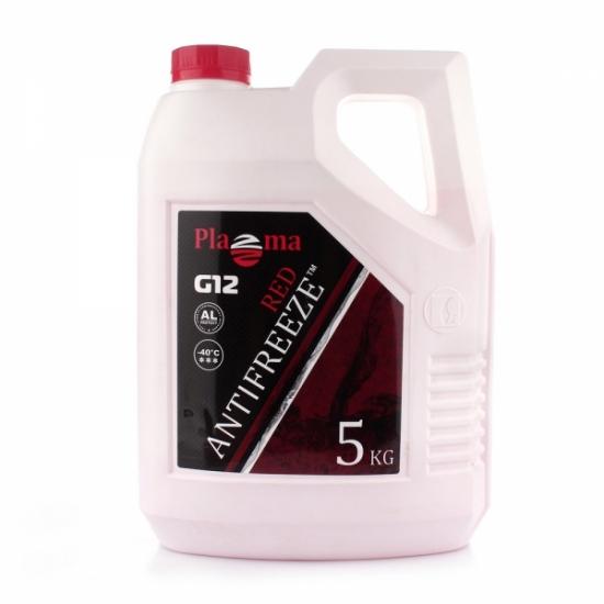 Антифриз Plazma G12 -40°С красный 5 кг