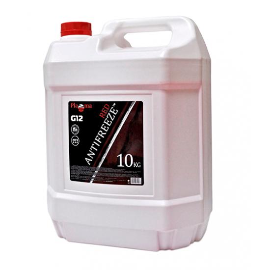 Антифриз Plazma G12 -40°С красный 10 кг