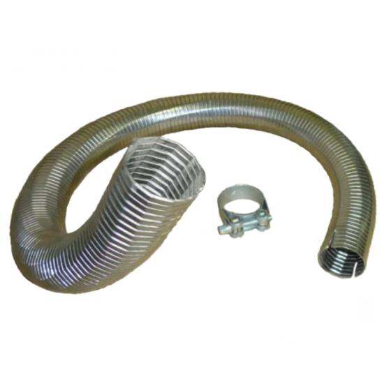 Металлорукав 60х1000 гофра (нержавеющая сталь) РМВ 60х1000