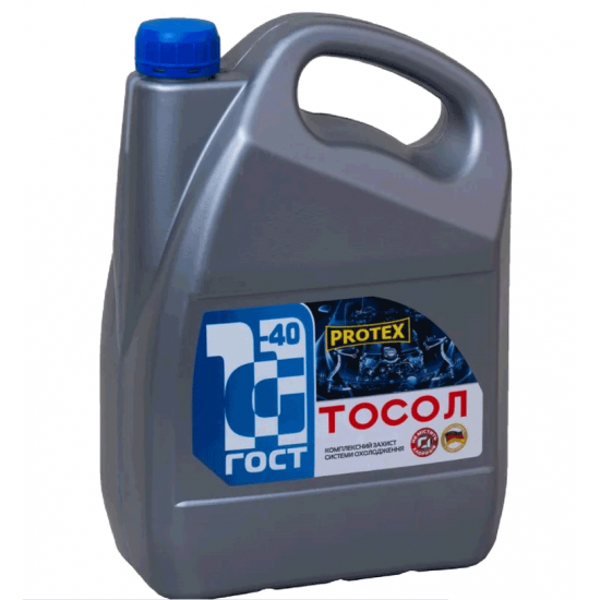 Антифриз Тосол -40 G11 синий Protex 10 кг