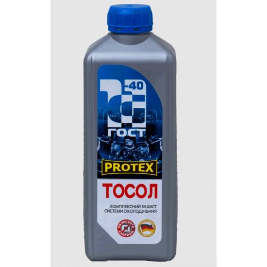 Антифриз Тосол -40 G11 синий Protex 1 кг
