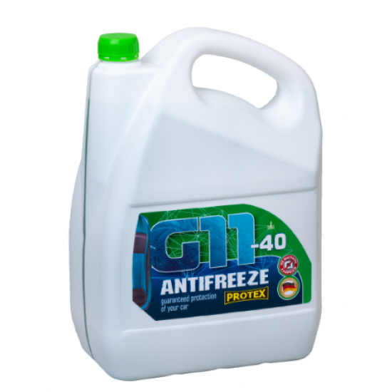 Антифриз -40 G11 зеленый Protex 4.6 кг