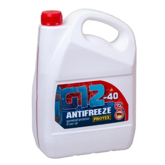 Антифриз -40 G12 красный Protex 4.6 кг