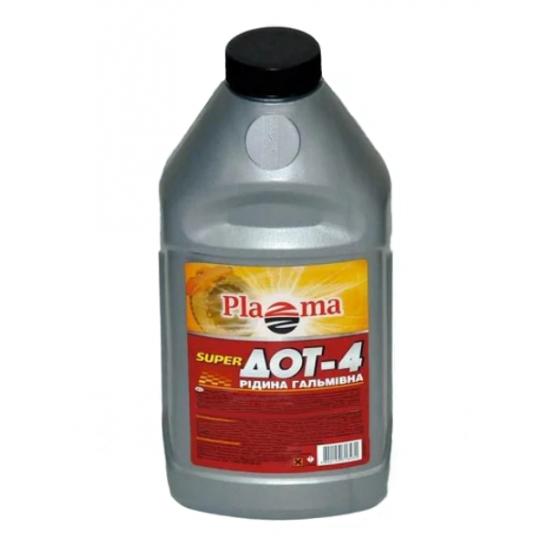Тормозная жидкость PLAZMA Рось ДОТ-4 0.39 кг