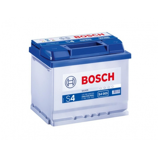 Аккумулятор 60Ah-12v BOSCH S4 005 242x175x190 R EN540