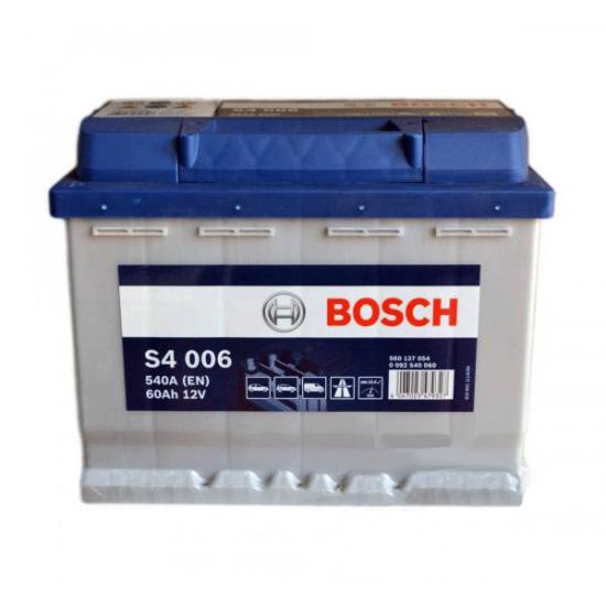 Аккумулятор 60Ah-12v BOSCH S4 006 242x175x190 L EN540